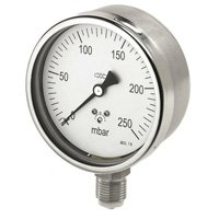 All-stainless steel case capsule gauge